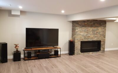 Basement Fireplaces